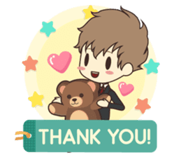 Notice Me Senpai! Mobile Game sticker #11820630