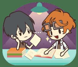 Notice Me Senpai! Mobile Game sticker #11820653