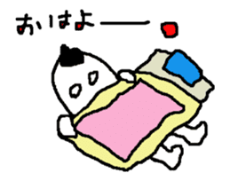 yokai moving part1 sticker #11824168