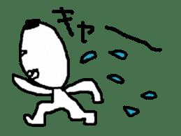 yokai moving part1 sticker #11824177