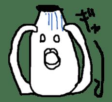 yokai moving part1 sticker #11824178