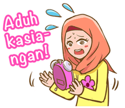 Euis Geulis Hijab: Ramadhan & Daily Talk sticker #11828915