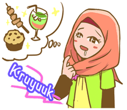 Euis Geulis Hijab: Ramadhan & Daily Talk sticker #11828917