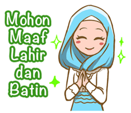 Euis Geulis Hijab: Ramadhan & Daily Talk sticker #11828942