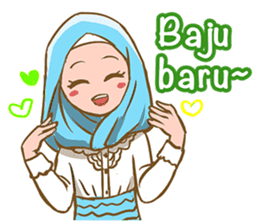 Euis Geulis Hijab: Ramadhan & Daily Talk sticker #11828943