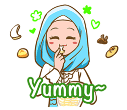 Euis Geulis Hijab: Ramadhan & Daily Talk sticker #11828945