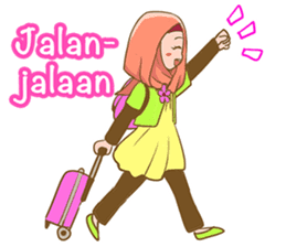 Euis Geulis Hijab: Ramadhan & Daily Talk sticker #11828947
