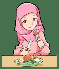 Muslim Couple : Ramadan sticker #11832527