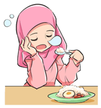 Muslim Couple : Ramadan sticker #11832528