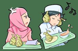 Muslim Couple : Ramadan sticker #11832545