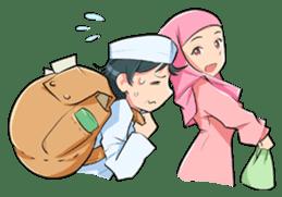 Muslim Couple : Ramadan sticker #11832546
