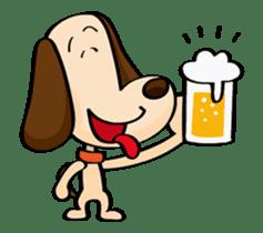 Faithful dog cookies sticker #11844099