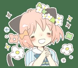 Cat ear girl Necoco part 5 sticker #11844744