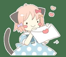 Cat ear girl Necoco part 5 sticker #11844752
