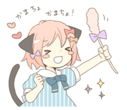Cat ear girl Necoco part 5 sticker #11844754