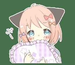 Cat ear girl Necoco part 5 sticker #11844756