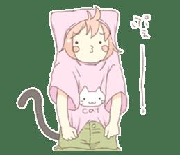 Cat ear girl Necoco part 5 sticker #11844764