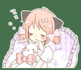 Cat ear girl Necoco part 5 sticker #11844772