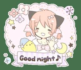 Cat ear girl Necoco part 5 sticker #11844773