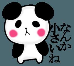 Slightly dry quiet panda sticker #11847074
