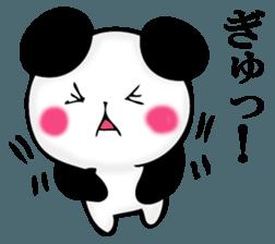 Slightly dry quiet panda sticker #11847085