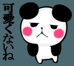 Slightly dry quiet panda sticker #11847091