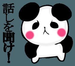 Slightly dry quiet panda sticker #11847101