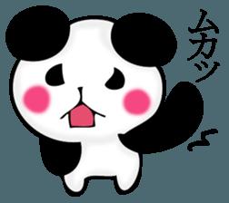 Slightly dry quiet panda sticker #11847106