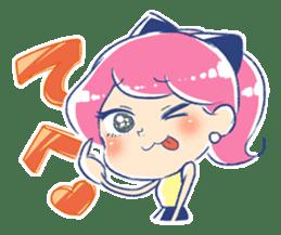 Good luck! Working women. mi-chan. sticker #11850572