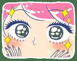Good luck! Working women. mi-chan. sticker #11850601