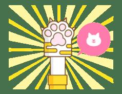 Animated hand sticker #11850622