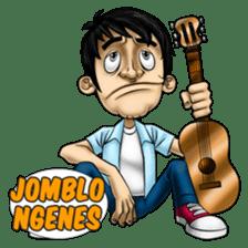 Jombloh: Alone not Lonely sticker #11851178