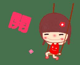 The Meehoo girl in love sticker #11854927