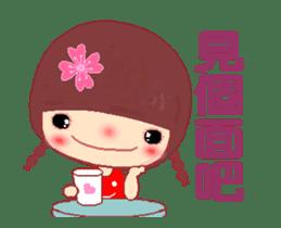 The Meehoo girl in love sticker #11854929