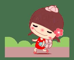 The Meehoo girl in love sticker #11854937