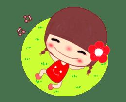 The Meehoo girl in love sticker #11854938