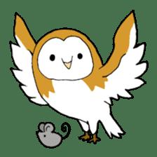 Bird horsetail sticker #11855289