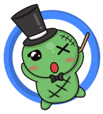 Bobong the zombie sticker #11856488