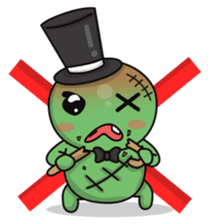 Bobong the zombie sticker #11856489