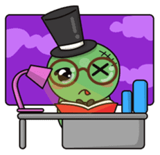 Bobong the zombie sticker #11856490