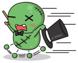 Bobong the zombie sticker #11856494