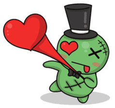 Bobong the zombie sticker #11856496