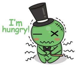 Bobong the zombie sticker #11856498