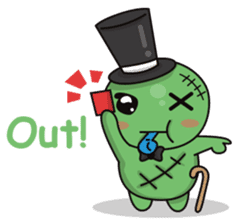 Bobong the zombie sticker #11856504