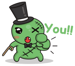 Bobong the zombie sticker #11856506