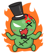Bobong the zombie sticker #11856507