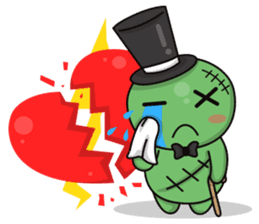 Bobong the zombie sticker #11856508