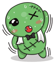 Bobong the zombie sticker #11856510