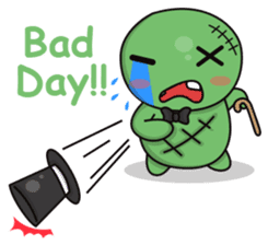 Bobong the zombie sticker #11856519