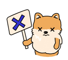 Cute Pomeranian Animation sticker #11857953